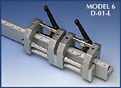 1-inch heavy duty units with double locking capacity for very heavy industrial applications