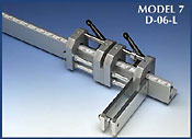 6-inch heavy duty units with double locking capacity for very heavy industrial applications